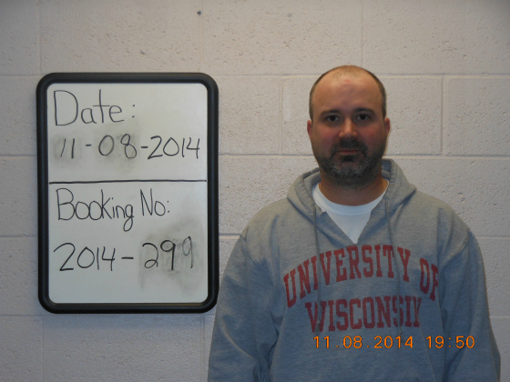 Kevin Elberg, in his arrest photo.