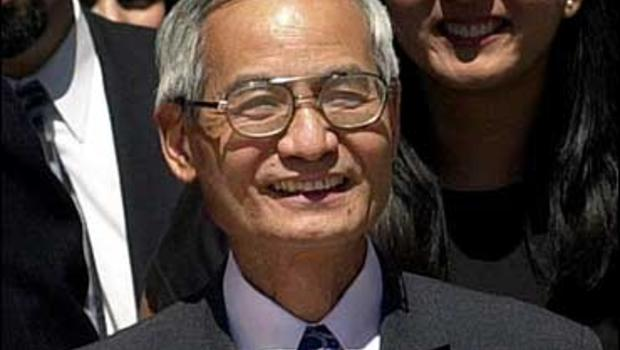 Wen Ho Lee, a Taiwanese American scientist wrongly accused by the federal government for espionage, in a case widely criticized as based largely on anti-Asian stereotypes.
