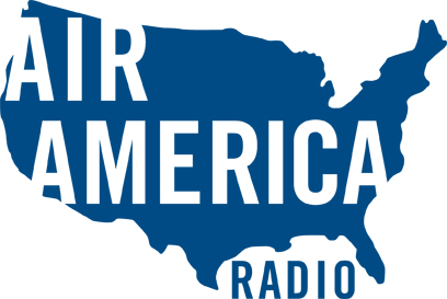 The logo for Air America radio, which launched in 2004.
