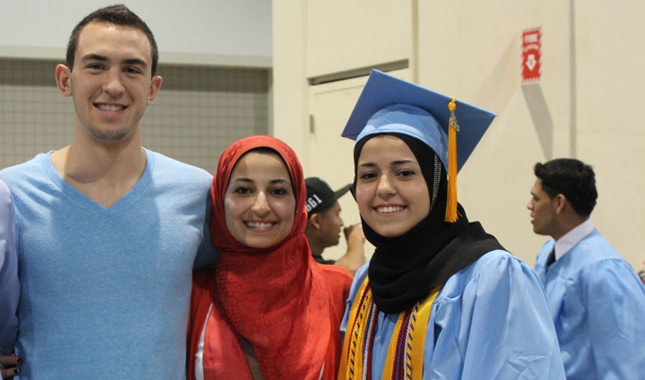 Three Muslim American students at UNC were killed in Chapel Hill last week by a gunman.