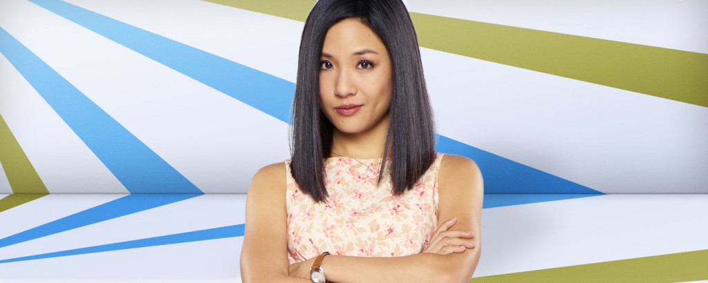"Constance Wu, who plays Jessica Huang on ABC's new sitcom ""Fresh Off The Boat"""
