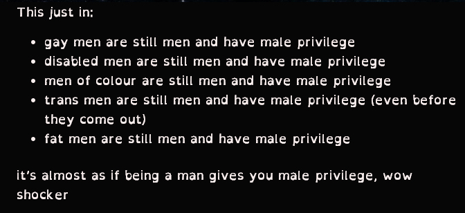 male-privilege