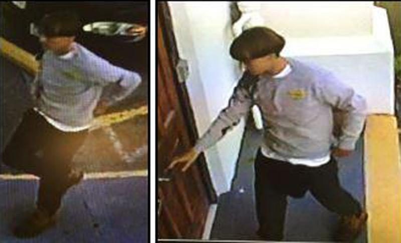 The gunman in last night's mass shooting at Mother Emmanuel AME Church in Charleston.