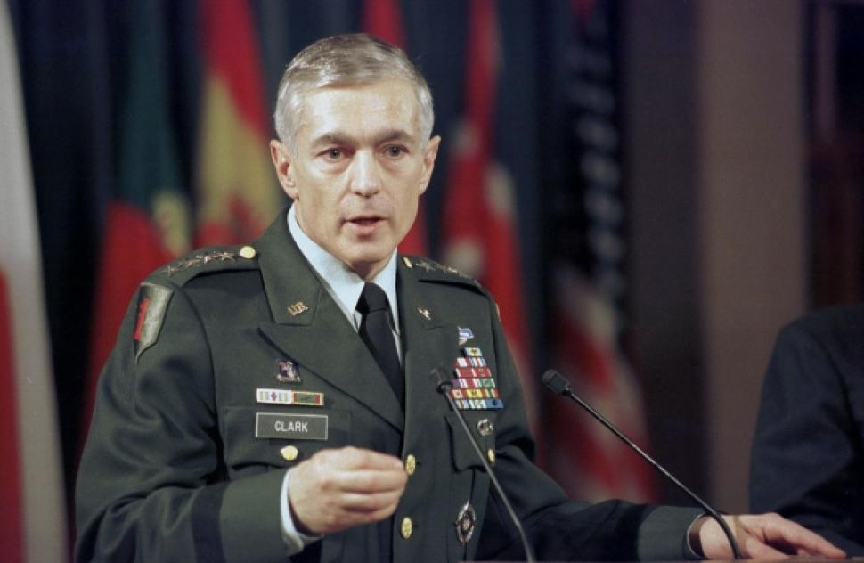 Retired US Army General Wesley Clark
