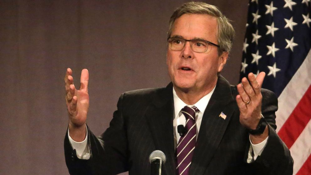 Former Florida Governor Jeb Bush. (Photo credit: M. Spencer Green / AP Photo)