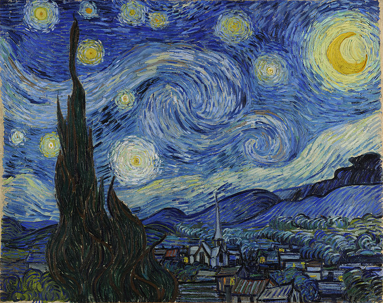 "Vincent Van Gogh's ""Starry Night""."