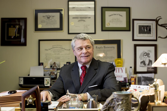 Mayor David Bowers of Roanoke, VA. (Photo credit: Ryan Stone / Washington Post)
