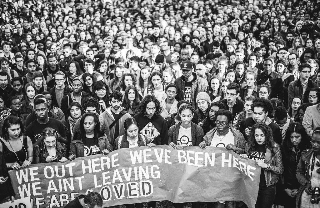 November 9 March of Resilience at Yale. (Photo credit: Philipp Arndt Photography)