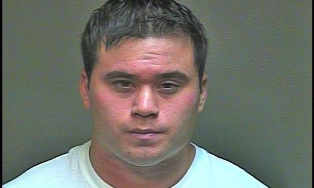 Daniel Holtzclaw, in a booking photo.