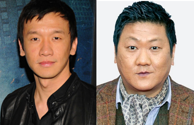 Chin Han (left) and Benedict Wong (right)