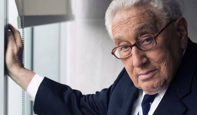 Henry Kissinger. (Photo credit: Unknown)