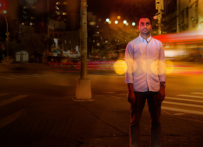 "Aziz Ansari, in a promotional image for his Netflix show, ""Master of None"". (Photo credit: Netflix)"