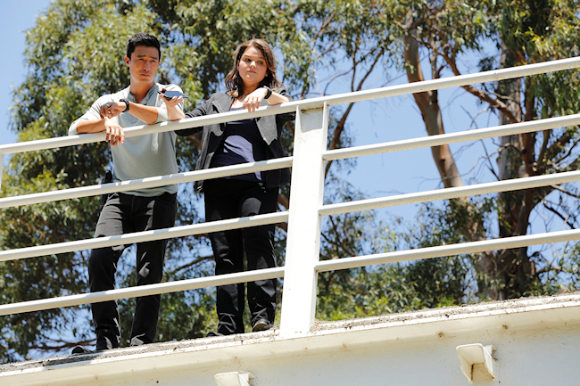 "CRIMINAL MINDS: BEYOND BORDERS - ""Pilot"" - ""Criminal Minds: Beyond Borders"" airs on CBS. (Photo Credit: ABC Studios/Trae Patton) DANIEL HENNEY, ANNIE FUNKE"