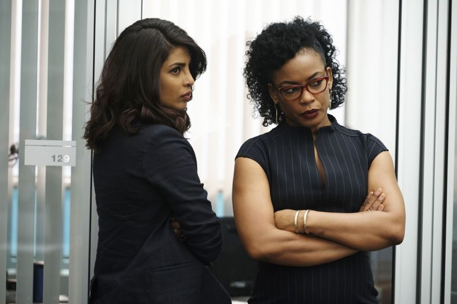 "QUANTICO – ""Fast"" (Photo Credit: ABC / Phillipe Bosse)"
