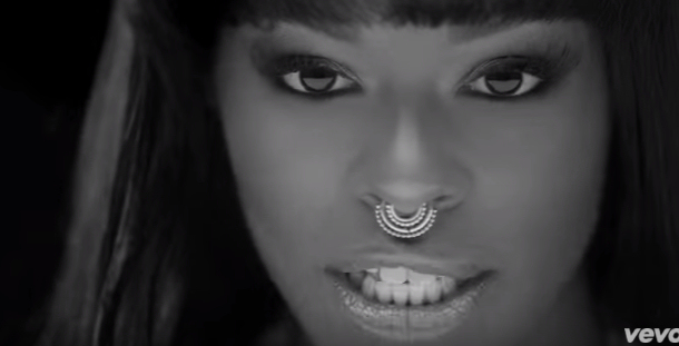 "Azealia Banks in her music video ""Chasing Time"". (Photo credit: YouTube)"