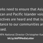 AAPI Civic and Civil Rights Groups Urge Cable News Networks to Improve On-Air Diversity