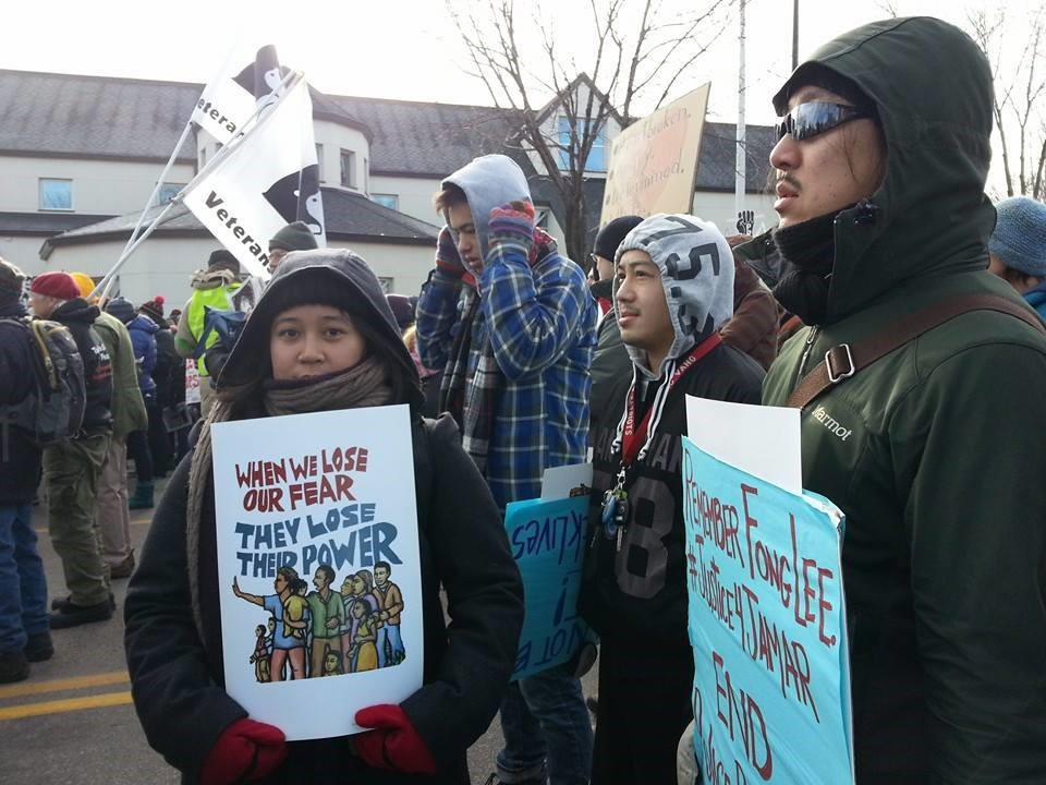#API4BlackLives-MN demonstrators in Minnesota. (Photo Credit: MSR-News)