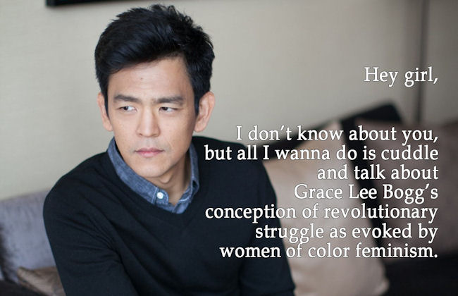 From #FeministJohnCho. (Photo Credit: Twitter / 18MillionRising)