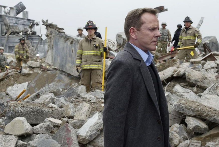 President Kirkman suddenly finds himself leading a country consumed by fear. Photo credit: ABC/Ben Mark Holzberg