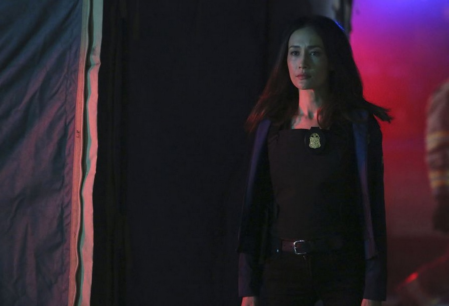 Maggie Q in 'Designated Survivor.' Photo Credit: ABC/Ian Watson