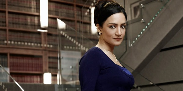 Archie Panjabi as Kalinda on The Good Wife. Photo Credit: CBS