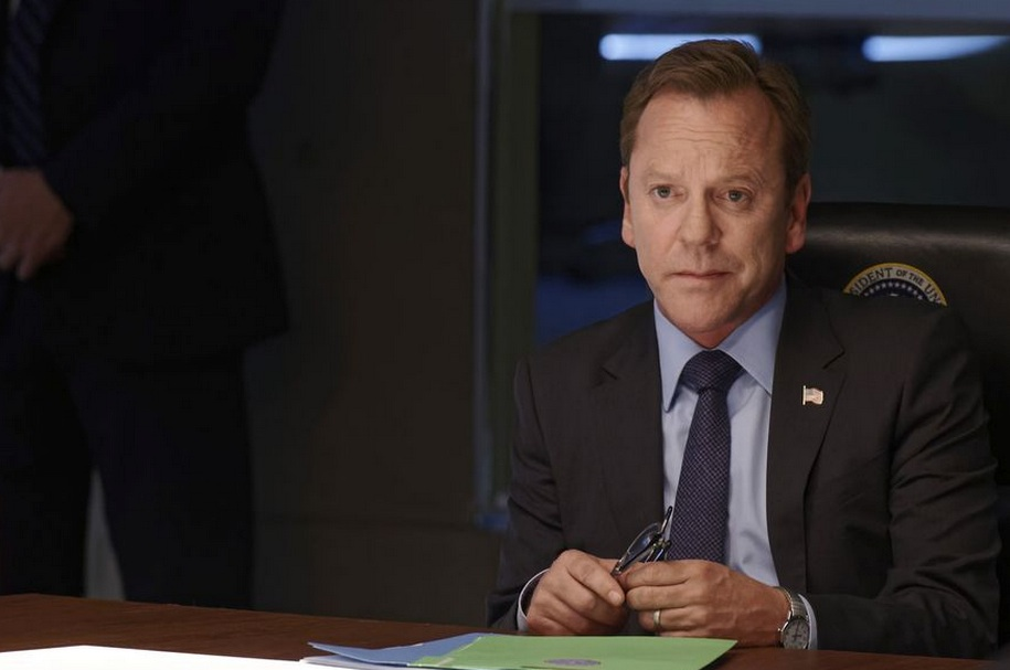 """This is President Kirkman's """"I'm fed up"""" face. Photo credit: ABC/Ben Mark Holzberg"""