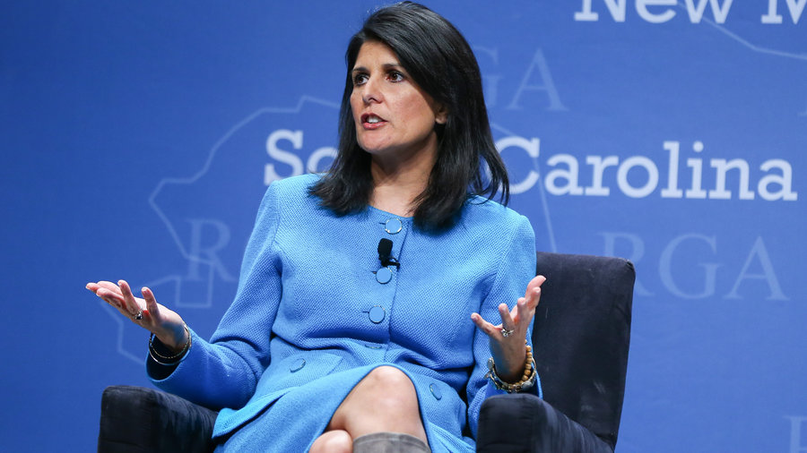 South Carolina Governor Nikki Haley. (Photo Credit: Chase Stevens/AP)