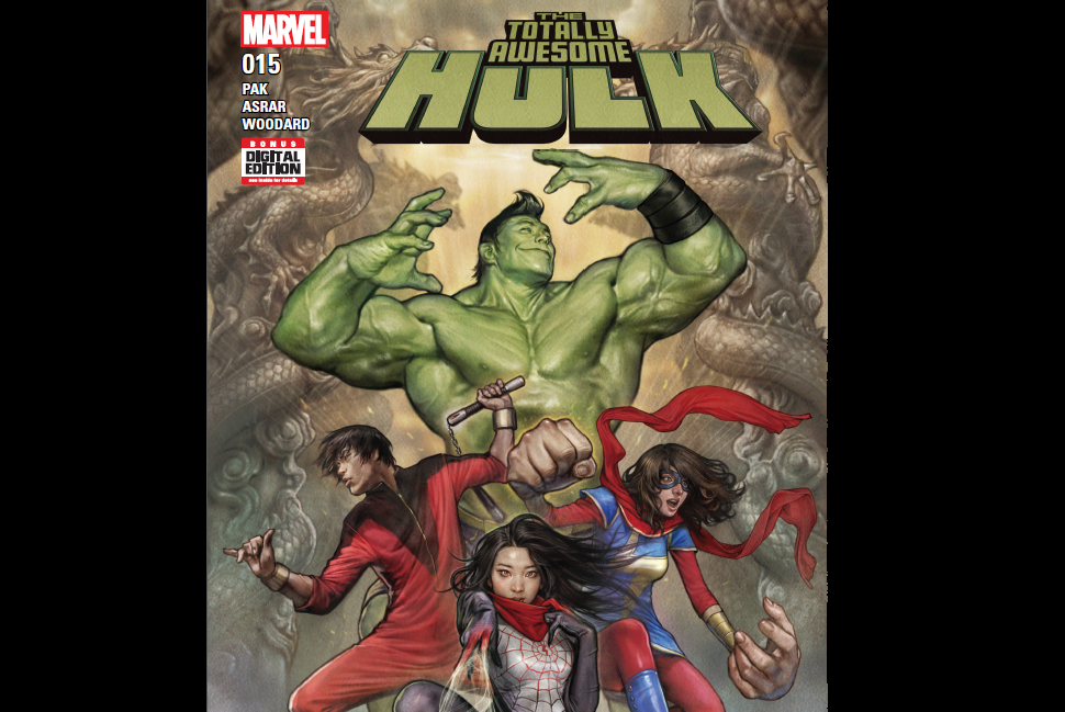 REVIEW: Totally Awesome Hulk #15 (and the Asian American Superhero Team-Up You've Been Waiting All Your Childhood For)