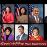 #DearMyAAPIRep: Please Join Your AAPI Congressional Colleagues in Boycotting Trump's Inauguration