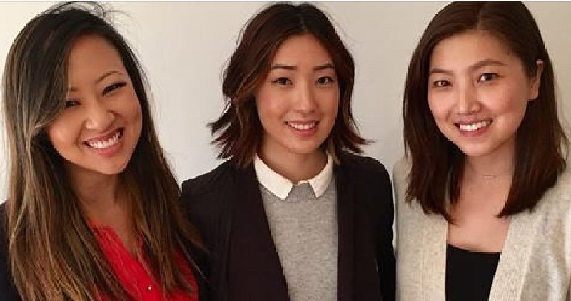 BetterBrave.com's Tammy Chao, Grace Choi, and Annie Shin created the site as a resource for women who have experienced sexual harassment in the workplace. (Photo credit: Huffington Post)