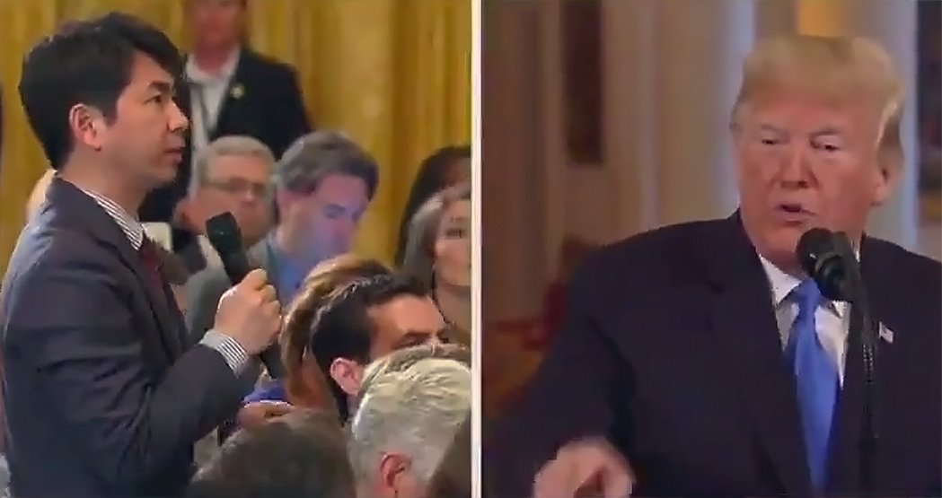 Trump Makes Racially-Charged Remarks Towards Japanese Reporter in Controversial Press Conference