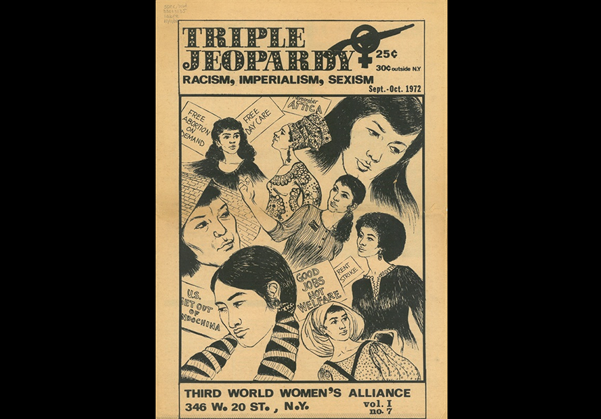 Solidarity is Love: Taking Asian Diasporic Feminists Back to Black and Asian Feminism in the '60s