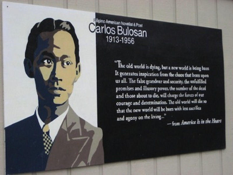 The Ghost of Carlos Bulosan